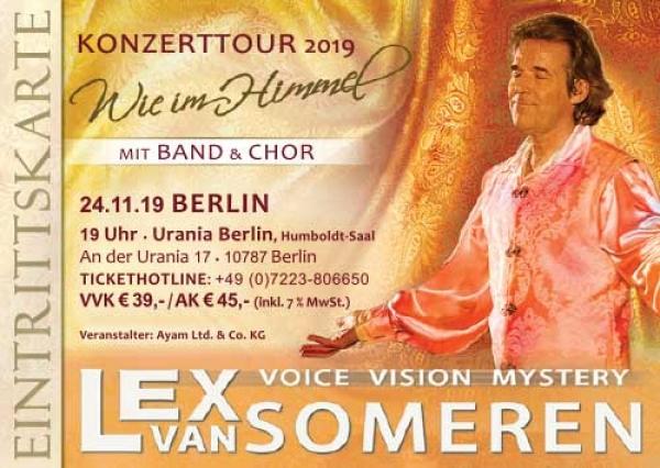 lex van someren konzerte 2019 ticket verlosung